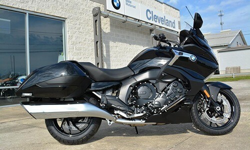 BMW Motorcycles of Cleveland bagger image